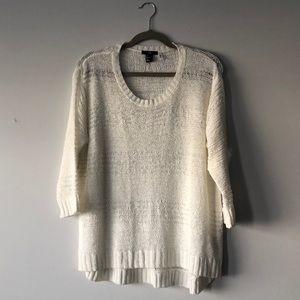 H&M Open Knit Sweater